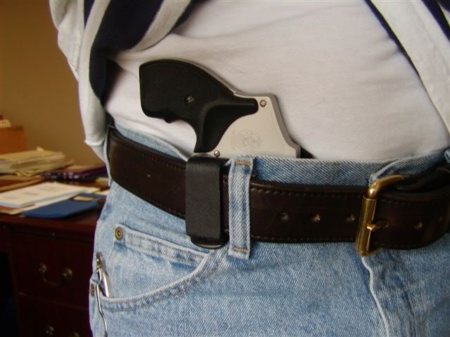 Kytac Appendix IWB J-Frame Holster Review (tuckable)   Oklahoma Shooters