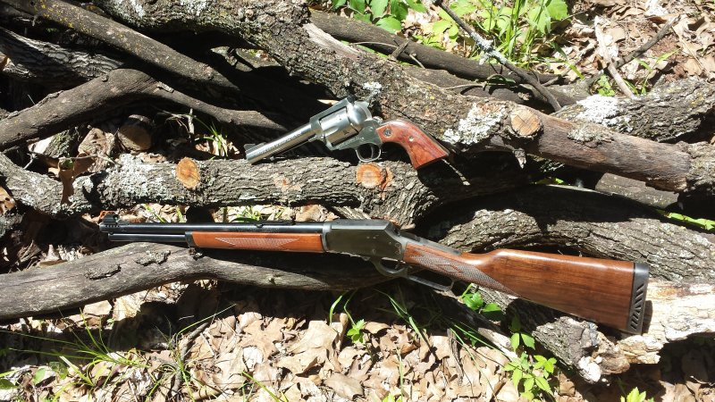 M1984P & 5.5inch Stainless SBH both .44 Mags.jpg
