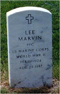 Image result for lee marvin tombstone